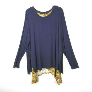 LOGO Lori Goldstein 2 Piece XL Knit Top & Tank